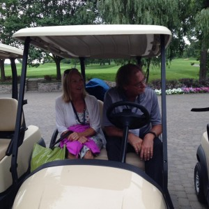Denise and Henry @ Venture Global Engineering Charity Golf Outing 2016